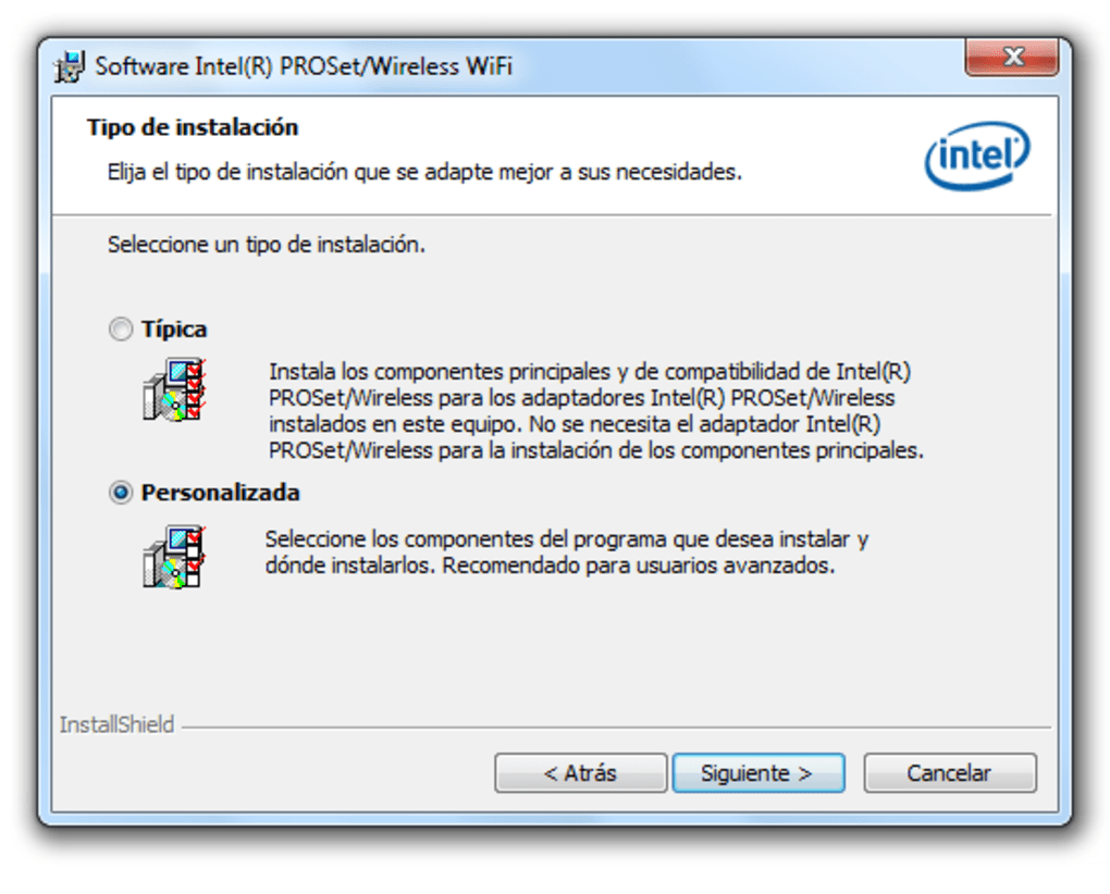 pilote carte wifi windows 7 Intel Pro Wireless Drivers   Download