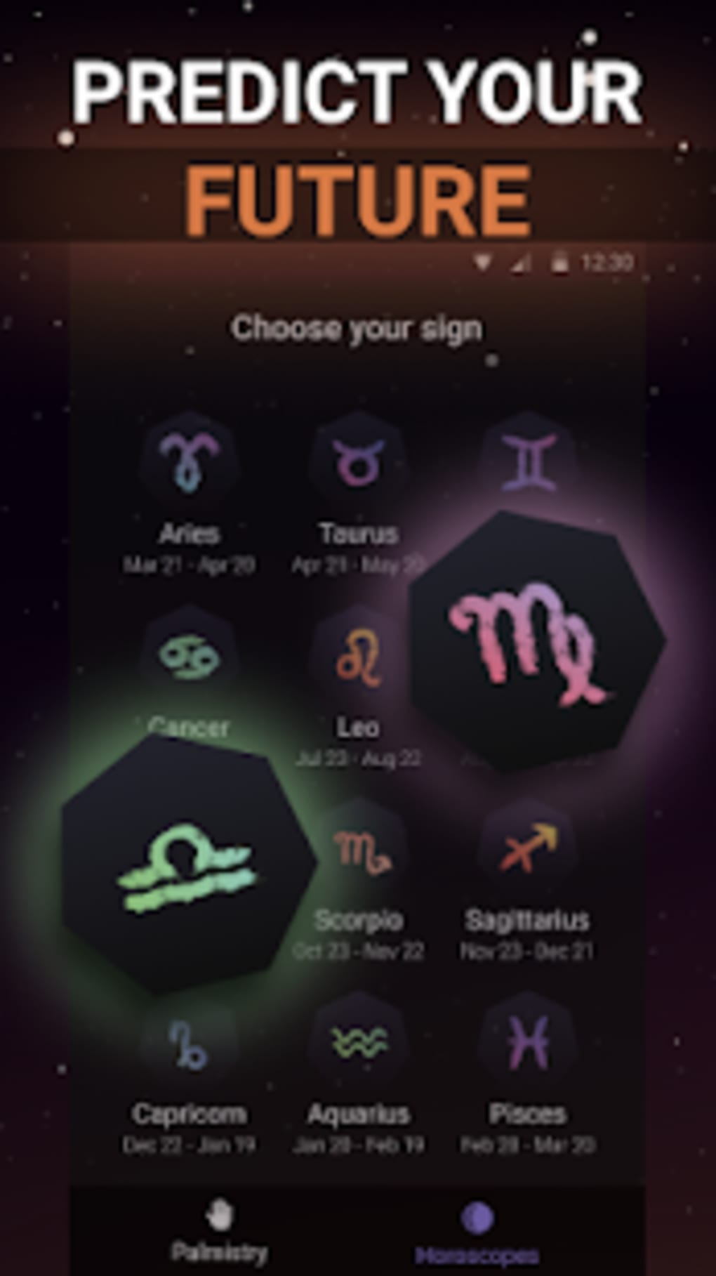 Daily Horoscope 2019: new Zodiac Signs Palmistry for Android