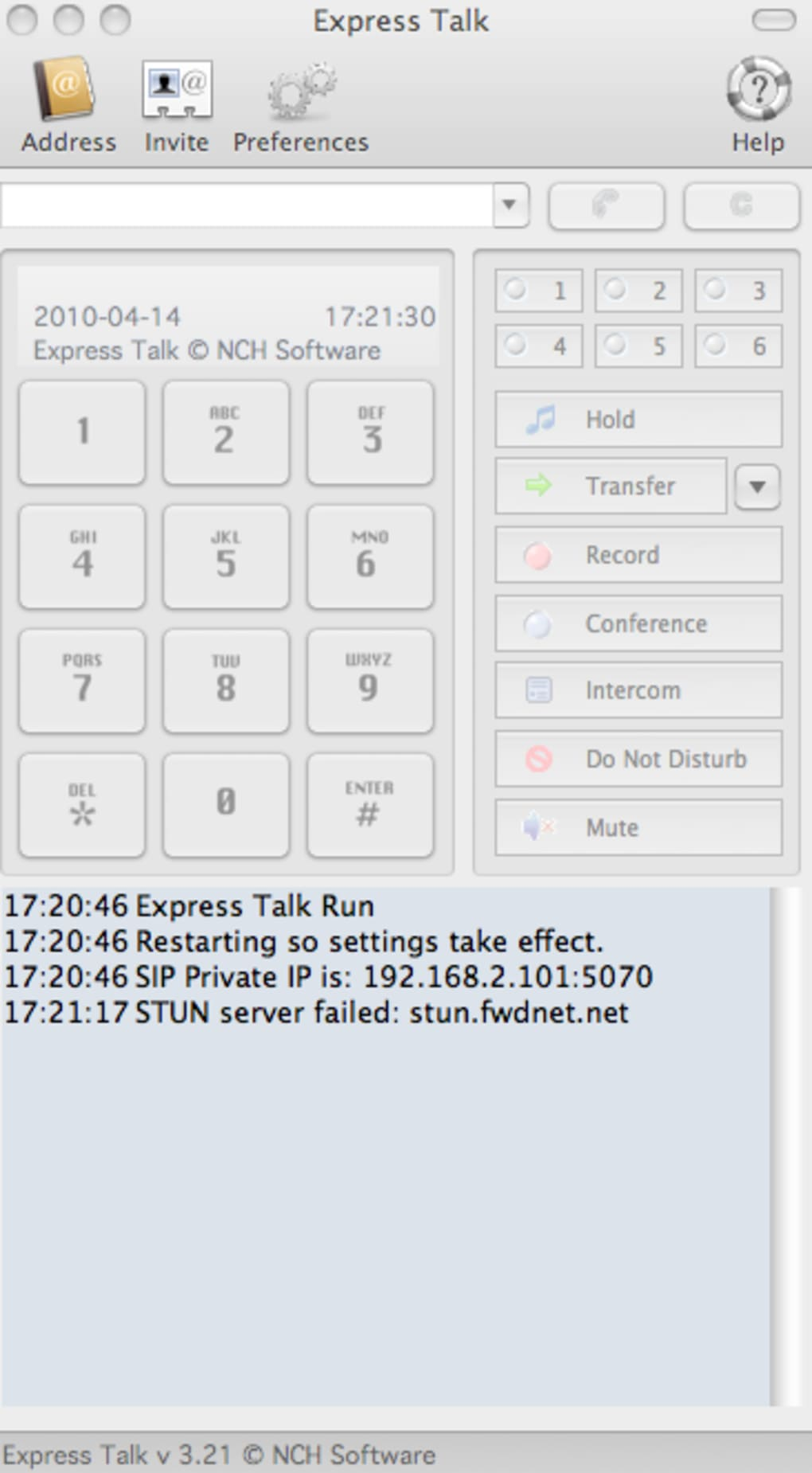 Express Talk Free VoIP Softphone for Mac (Mac) - Download