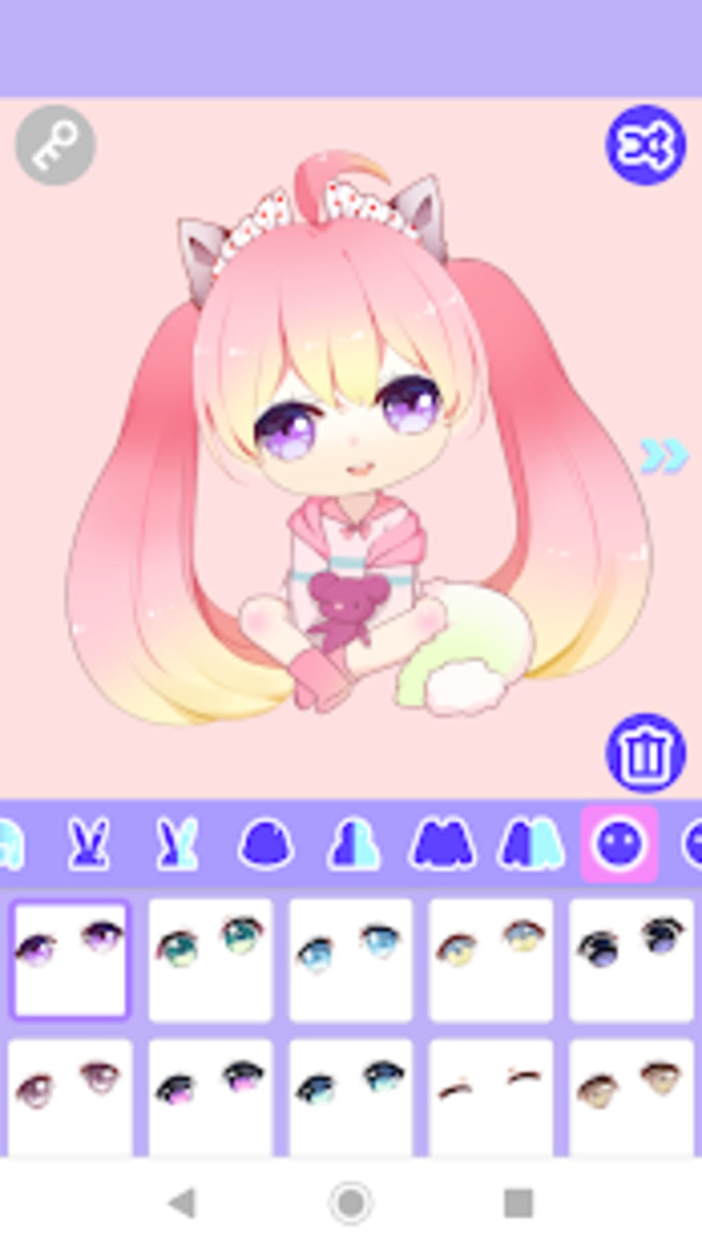 Cute Girl Avatar Maker for Android - Download