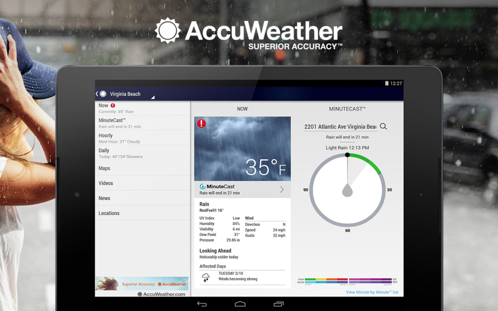 AccuWeather for Android - Download