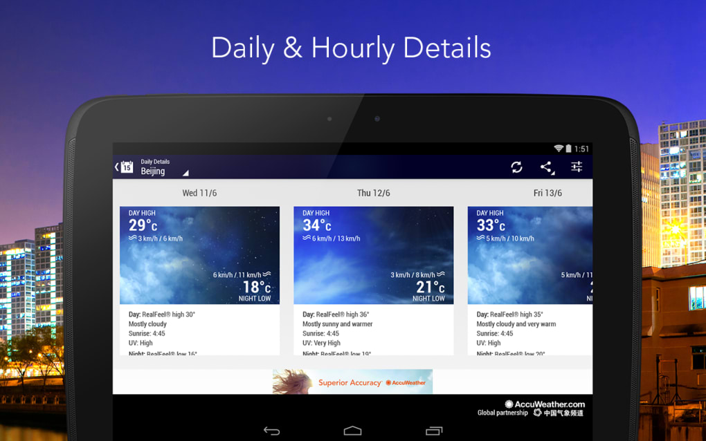 accuweather download app