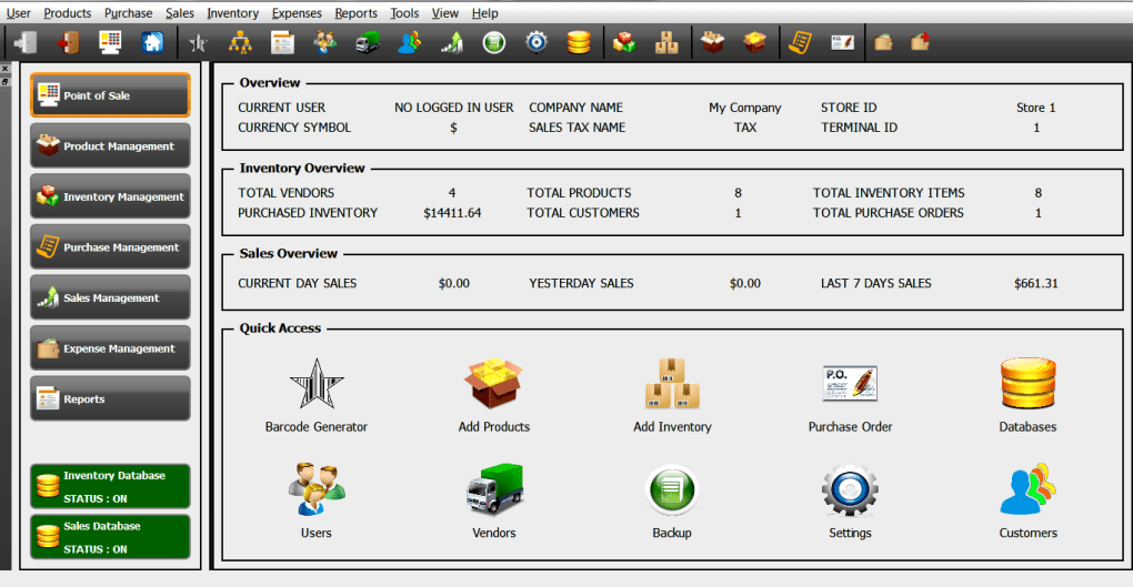 StarCode Express Plus Point of Sale and Inventory Manager - Download