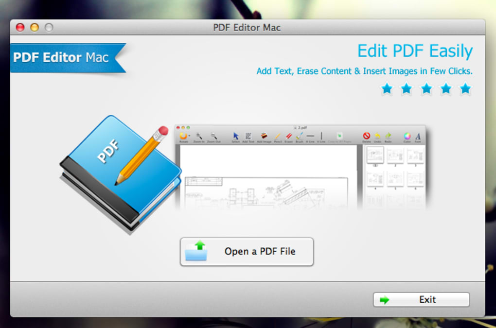 PDF Editor Mac (Mac) - Download
