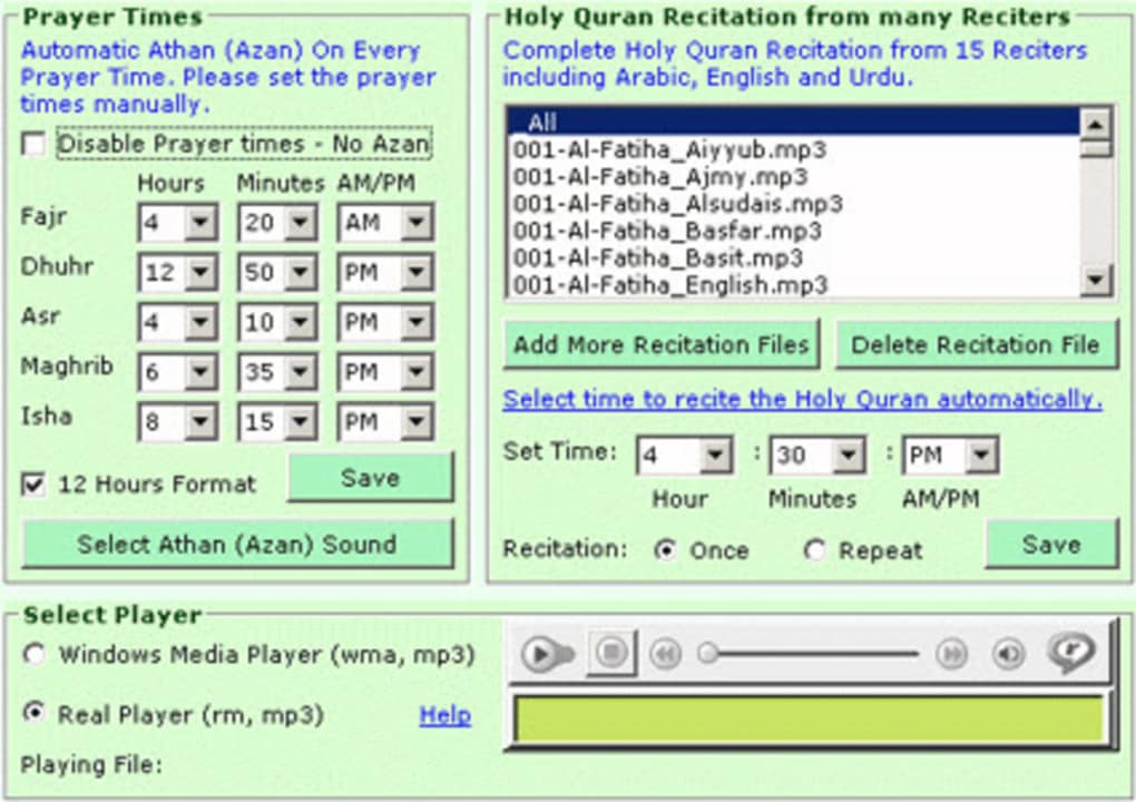 Quran Auto Reciter - Download