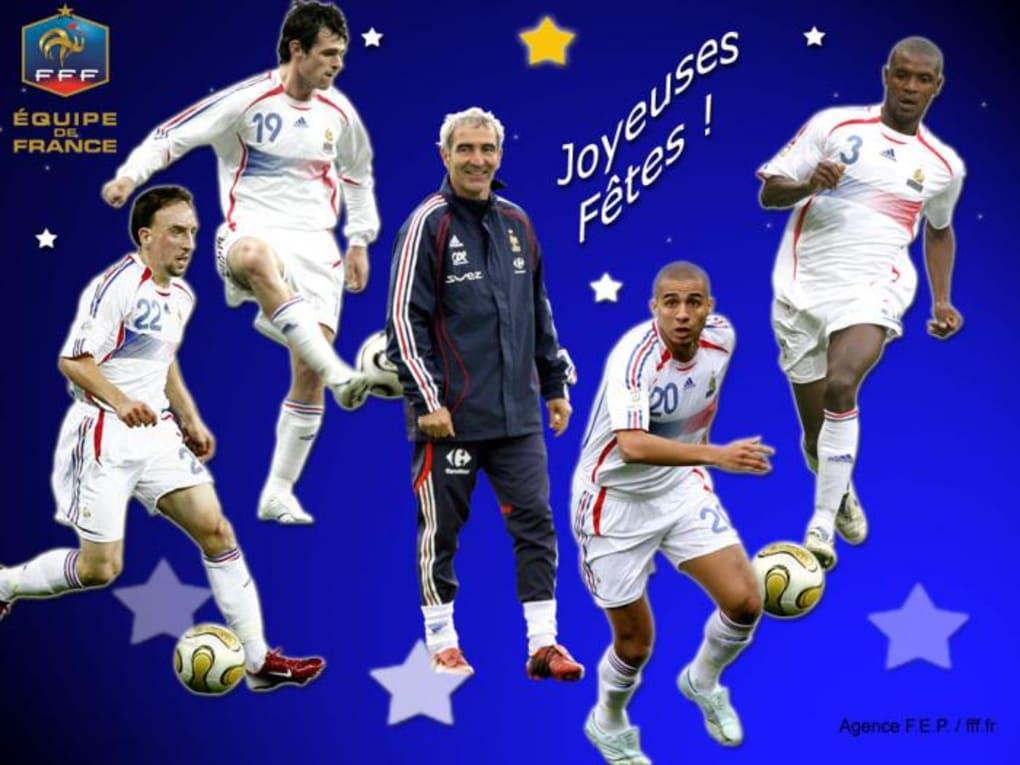 Fond d'écran - Equipe de France (2) - Télécharger