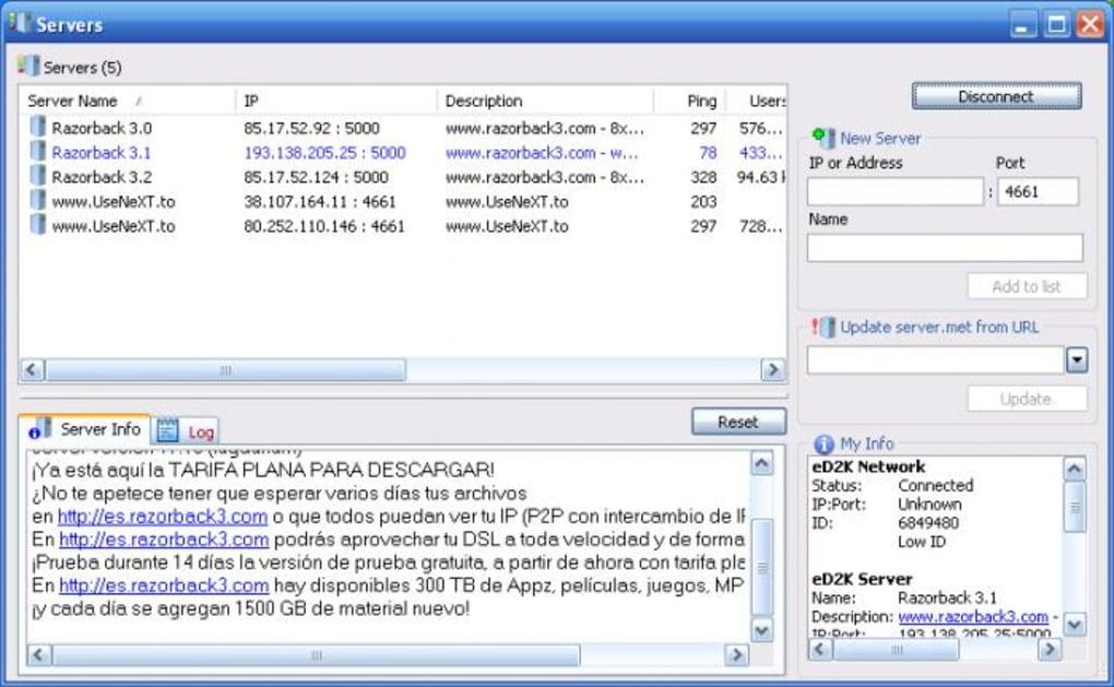 ed2k con utorrent