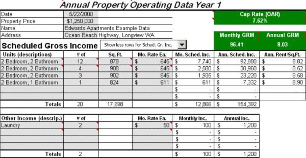 evaluate cost of real estate application