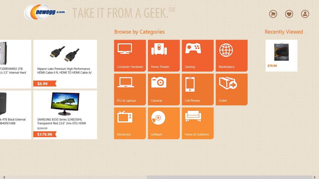 Newegg for Windows 10