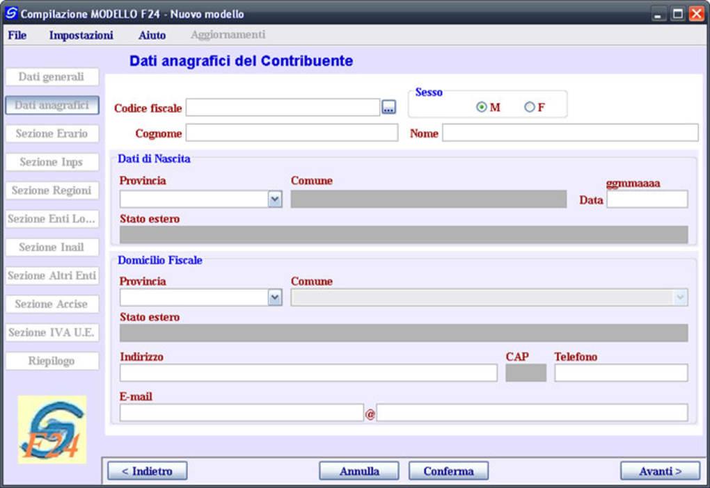 software f24 online