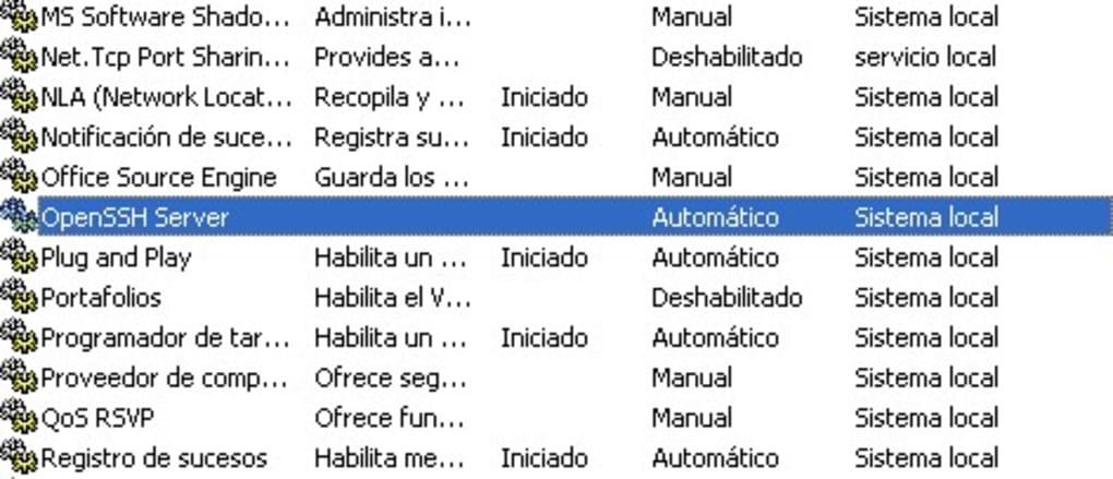 openssh-server download