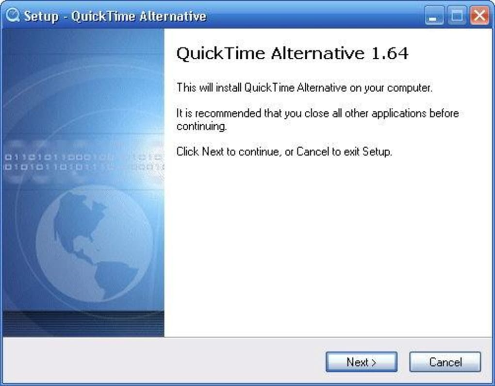 unable to install quicktime on windows 7