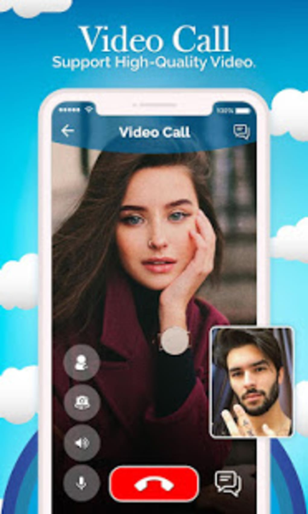 Android için Popular Random Chat With People : Live Video Chat - İndir