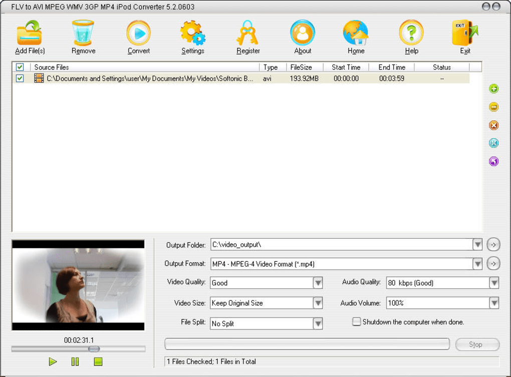 Free mp4 to avi converter free download and software reviews.