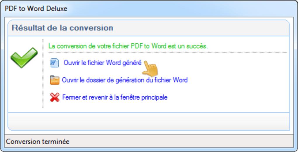 telecharger logiciel qui convertit pdf en word gratuit