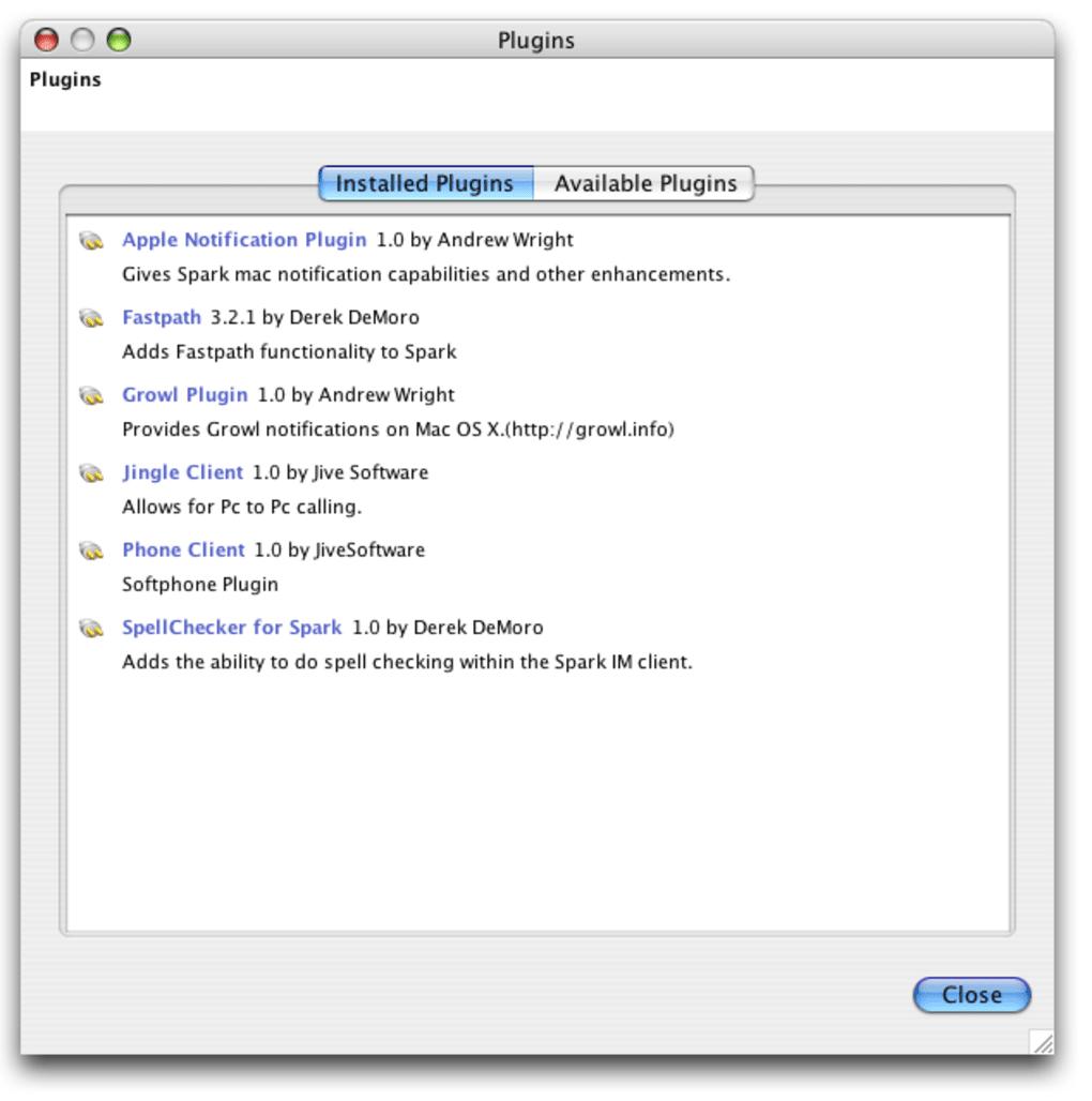spark 2.6.3 for mac