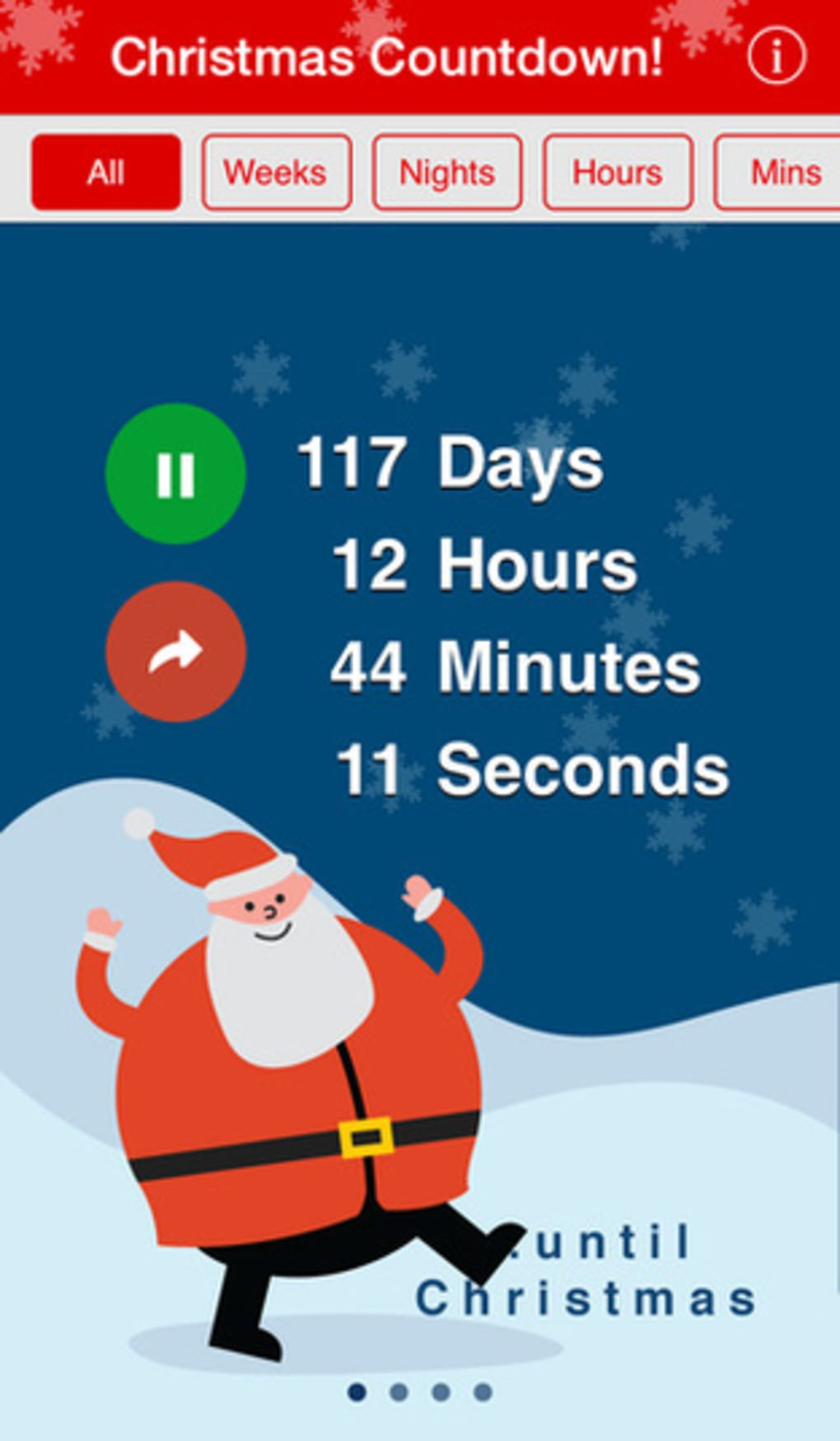 How Long Until Christmas.Christmas Countdown For Iphone Download