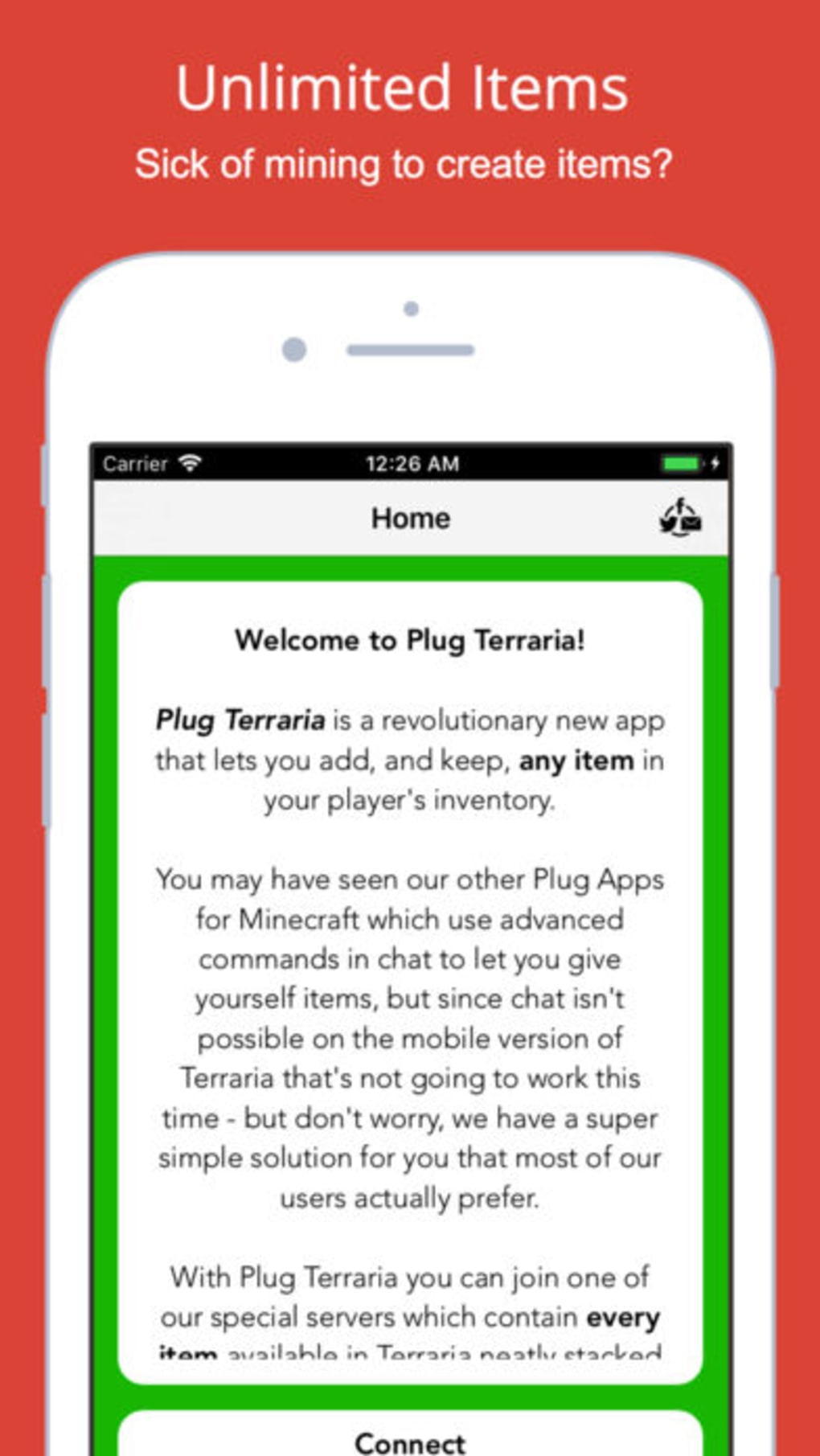 Plug for Terraria for iPhone - Download
