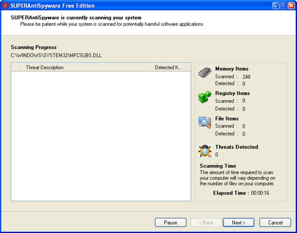 superantispyware portable free download