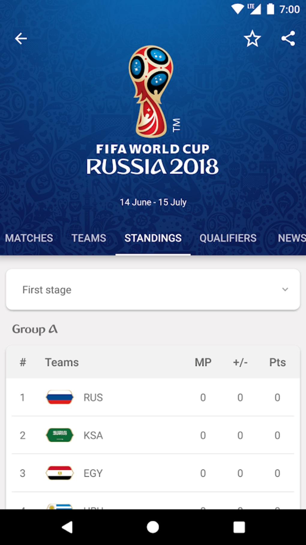 2018 fifa world cup russia for iphone ダウンロード