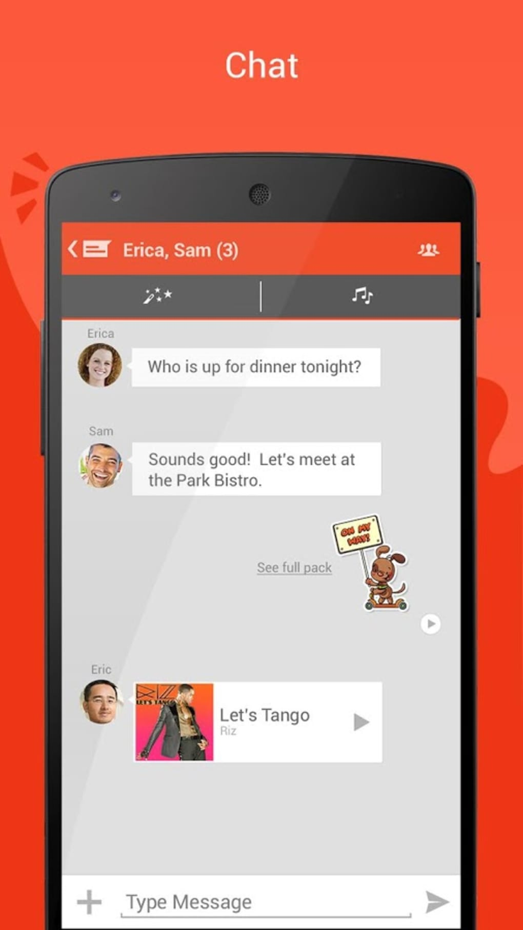 Tango for Android - Download