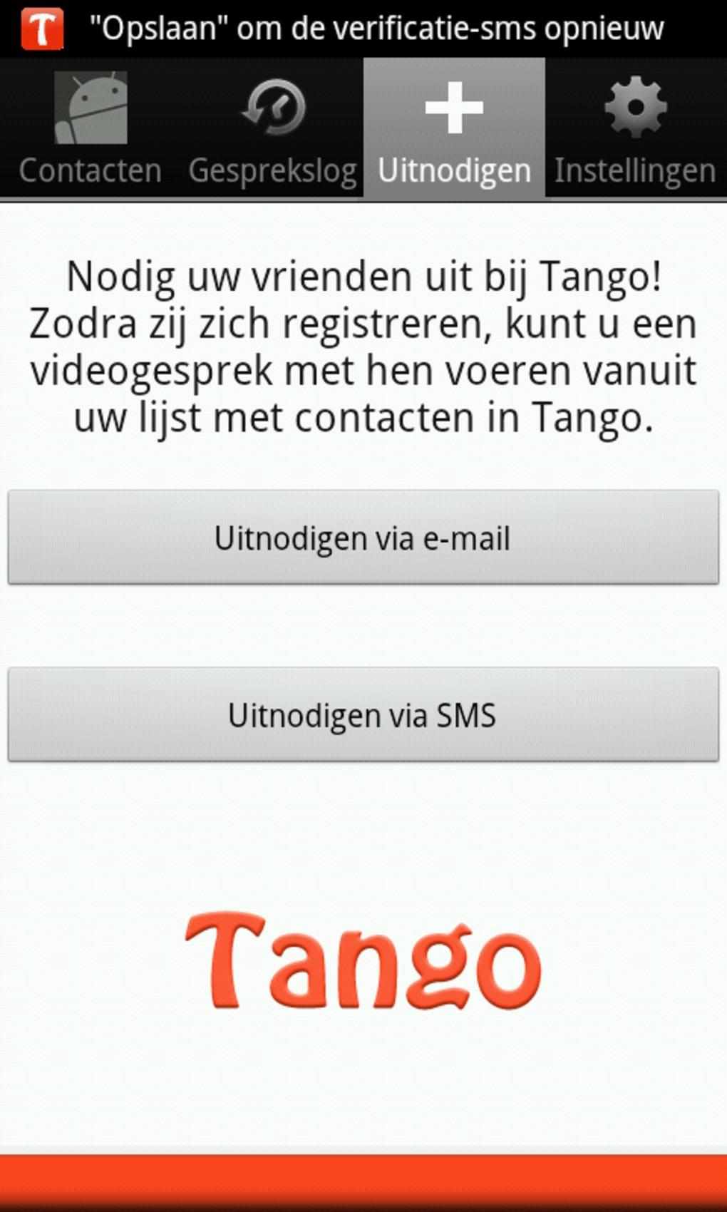 Twee tot tango dating app