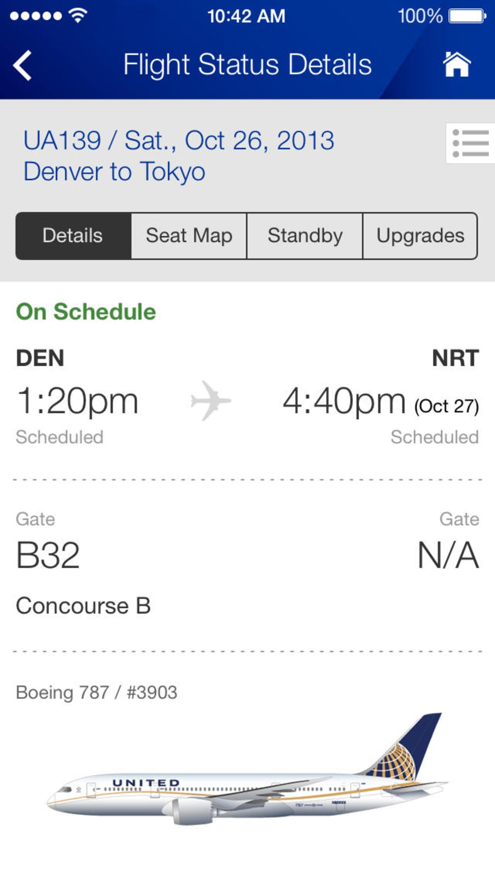 United Airlines for iPhone - Download