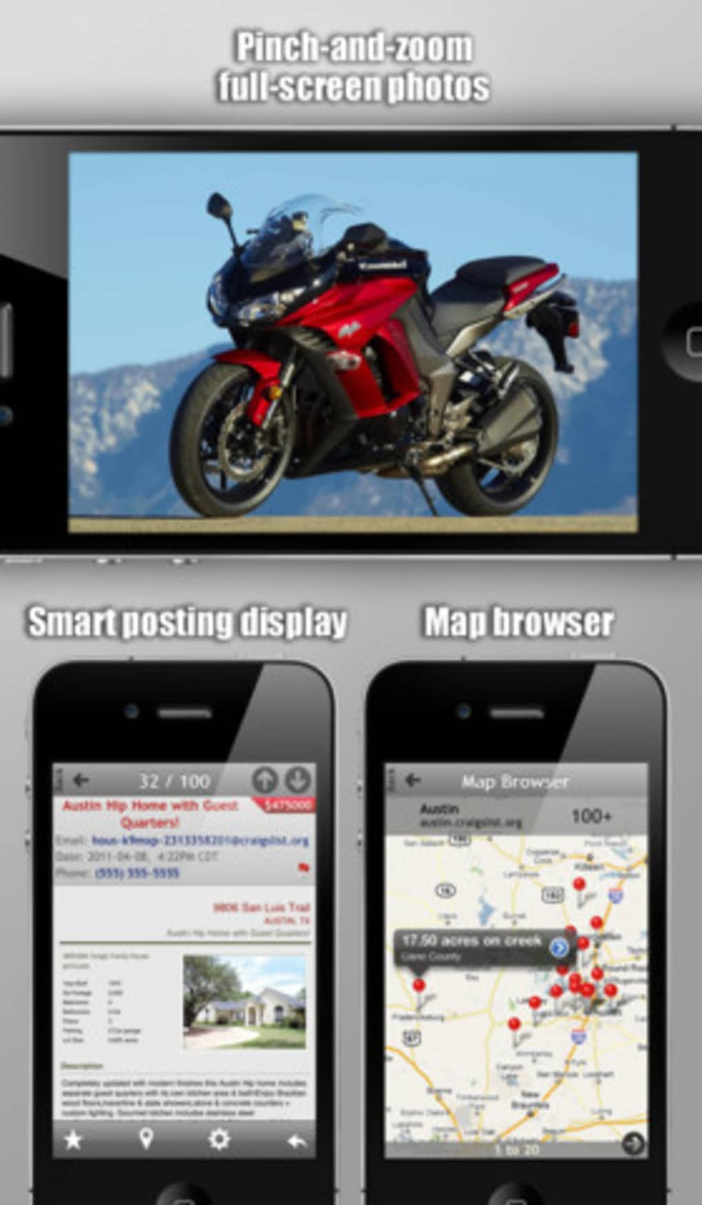 Craigslist Mobile for iPhone - Download