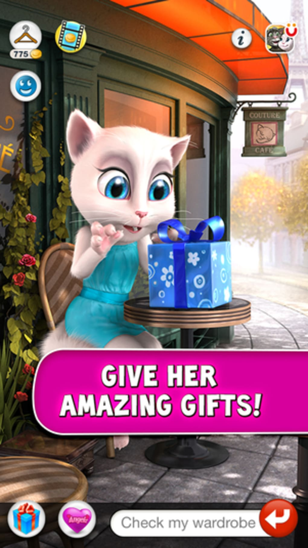 Talking Angela for iPhone - Download