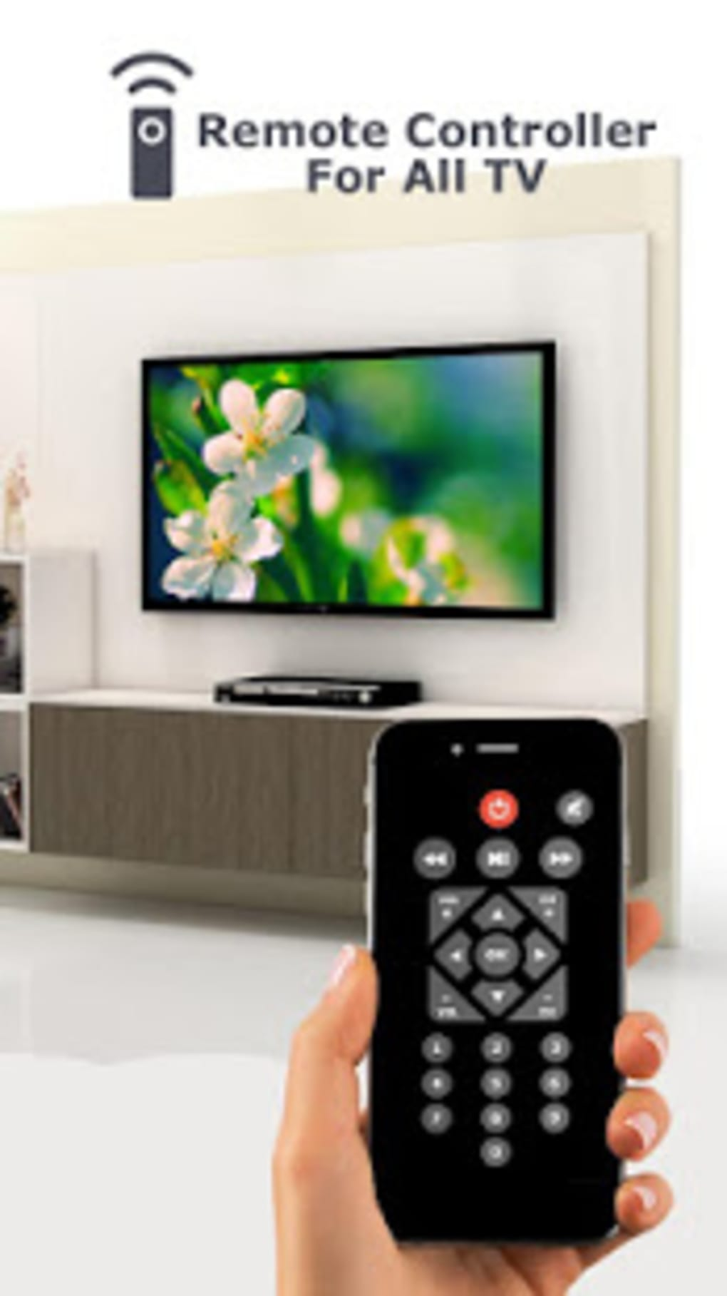 Remote Control for All TV - Universal Remote for Android