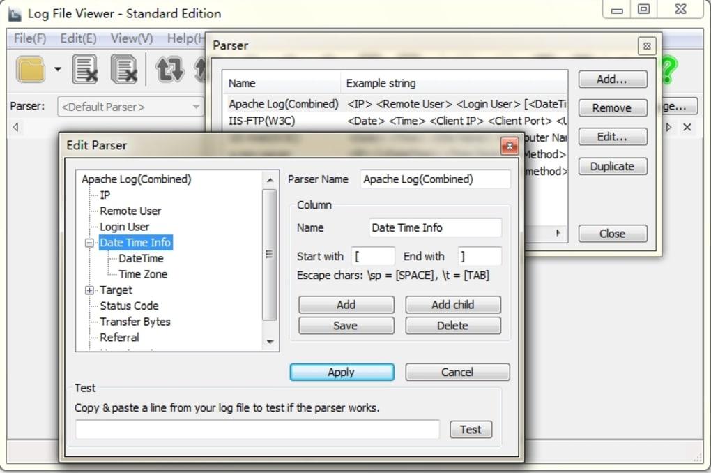 Log File Viewer - Standard Edition - Download