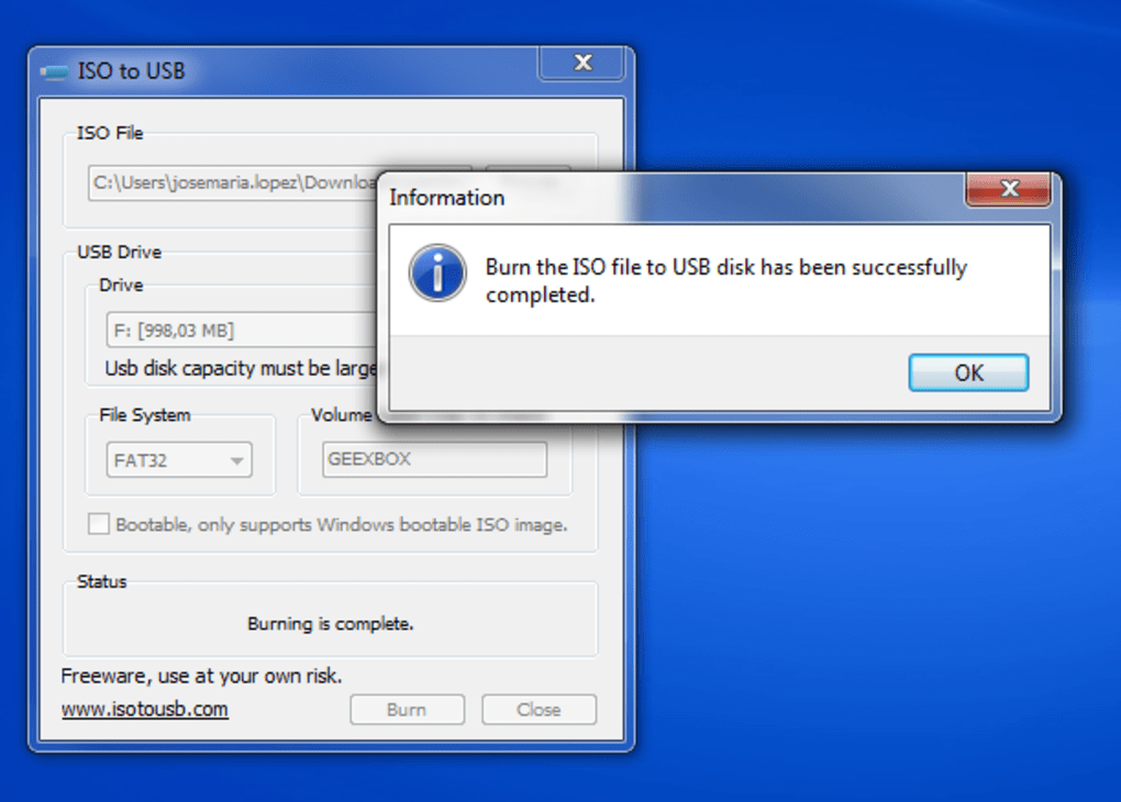 program iso to bootable usb