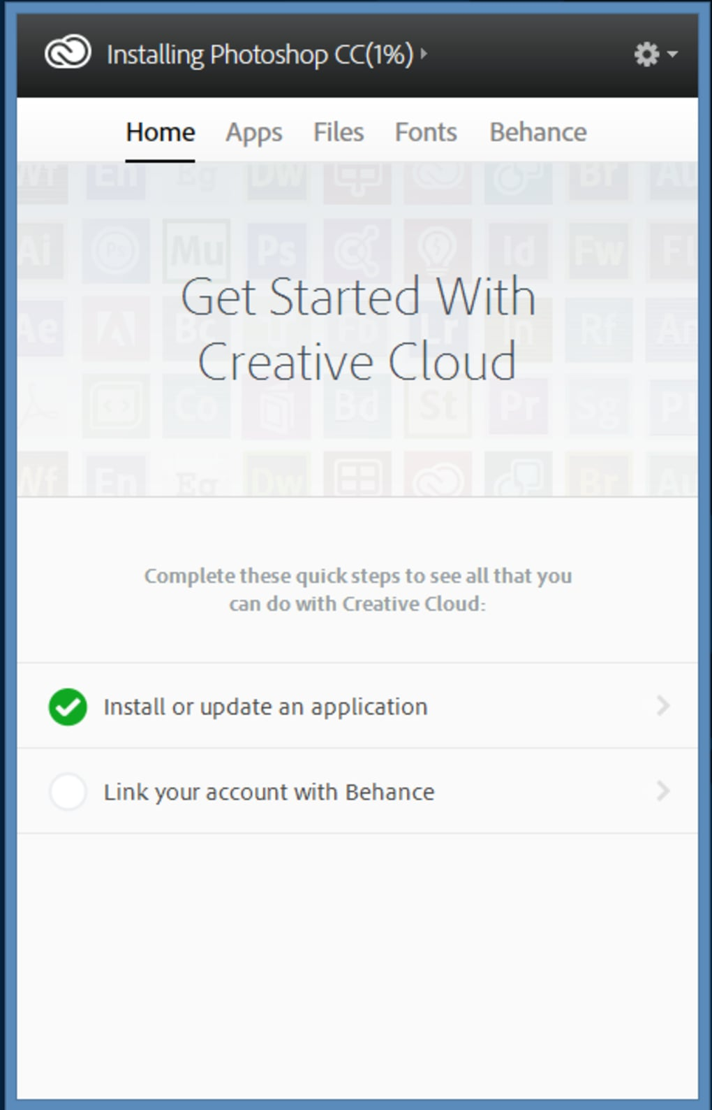 Adobe Creative Cloud - Download
