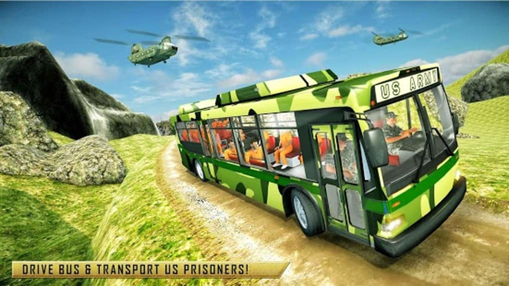 US Army Transporter Submarine Driving Games