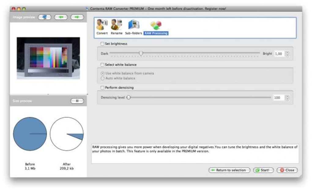 Contenta RAW Converter for Mac - Download