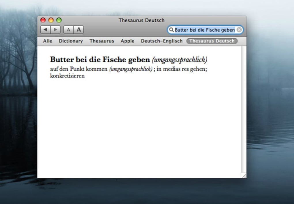 OpenThesaurus Deutsch ...