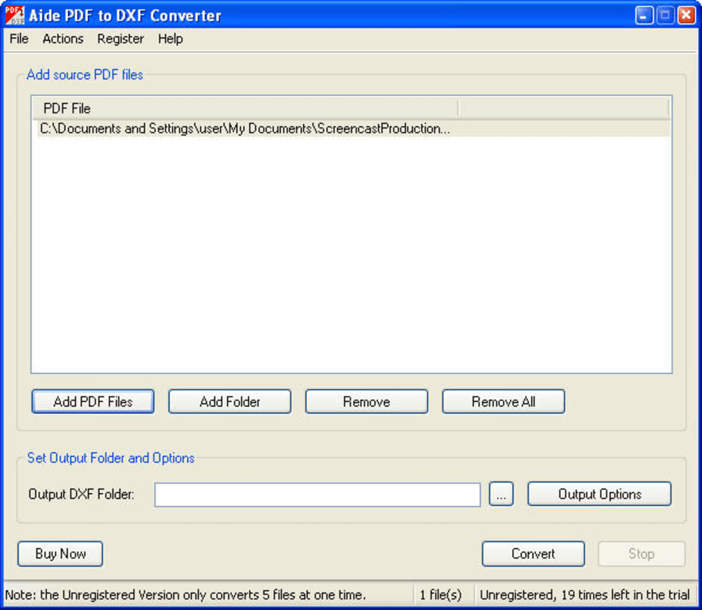 pdf to dxf converter free download with crack