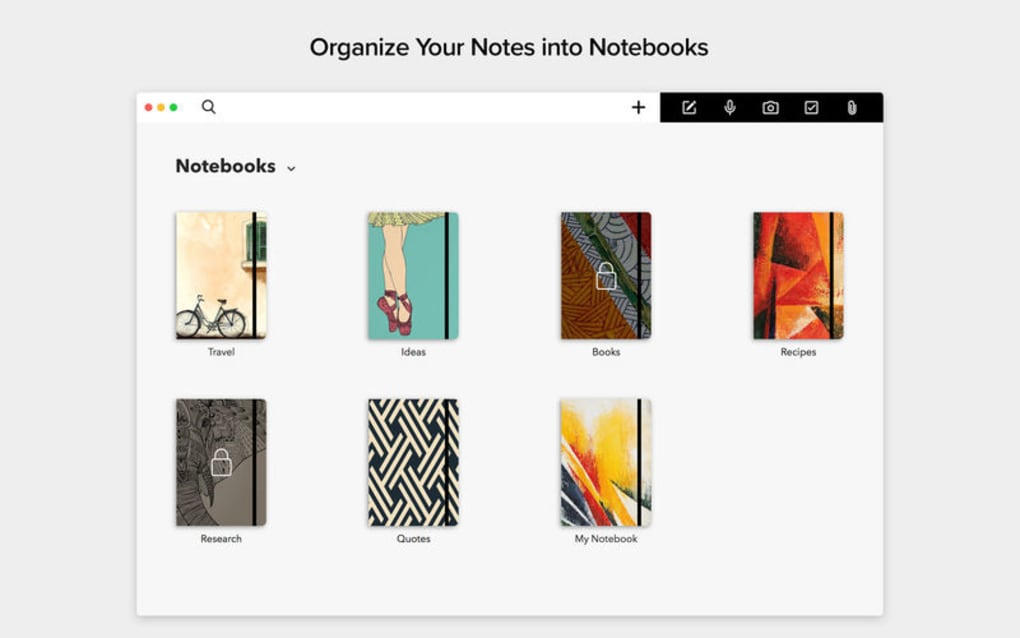 Notebook - Take Notes, Sync for Mac - Download