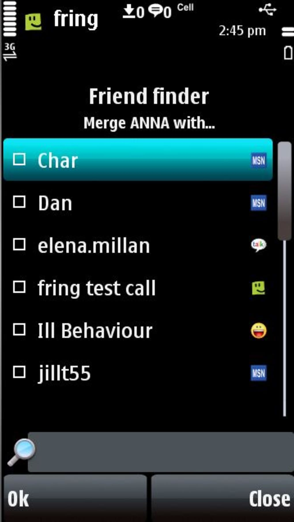 Download fring 5800 early access nokia s60 5th edition.