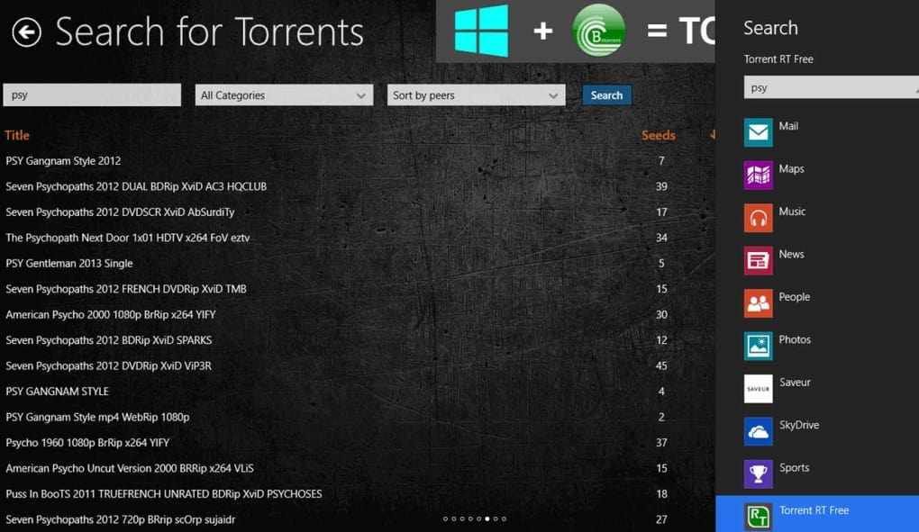 Bittorrent client for windows rt and windows 8 youtube.