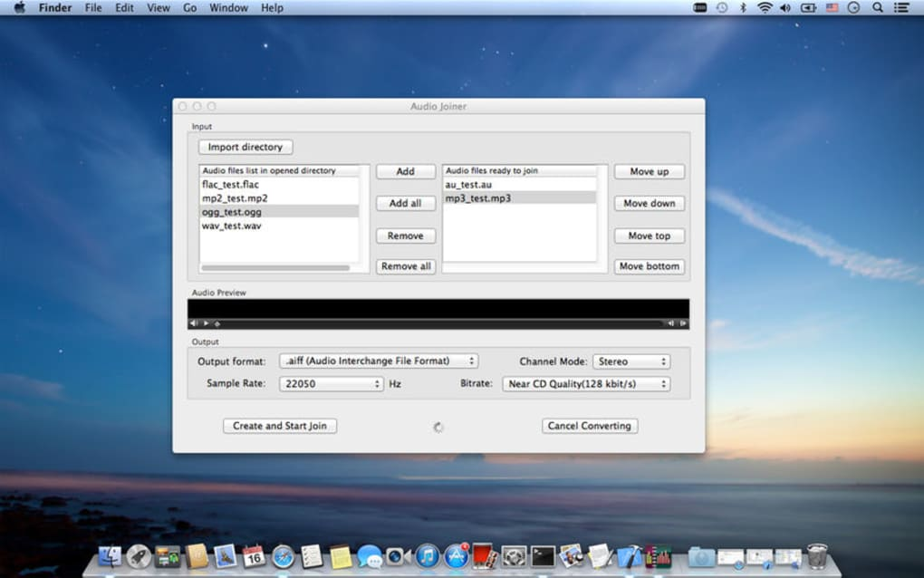 Audio Joiner for Mac - Download