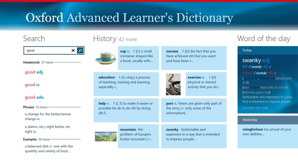 Oxford Advanced Learner's Dictionary, 8th edition - Download