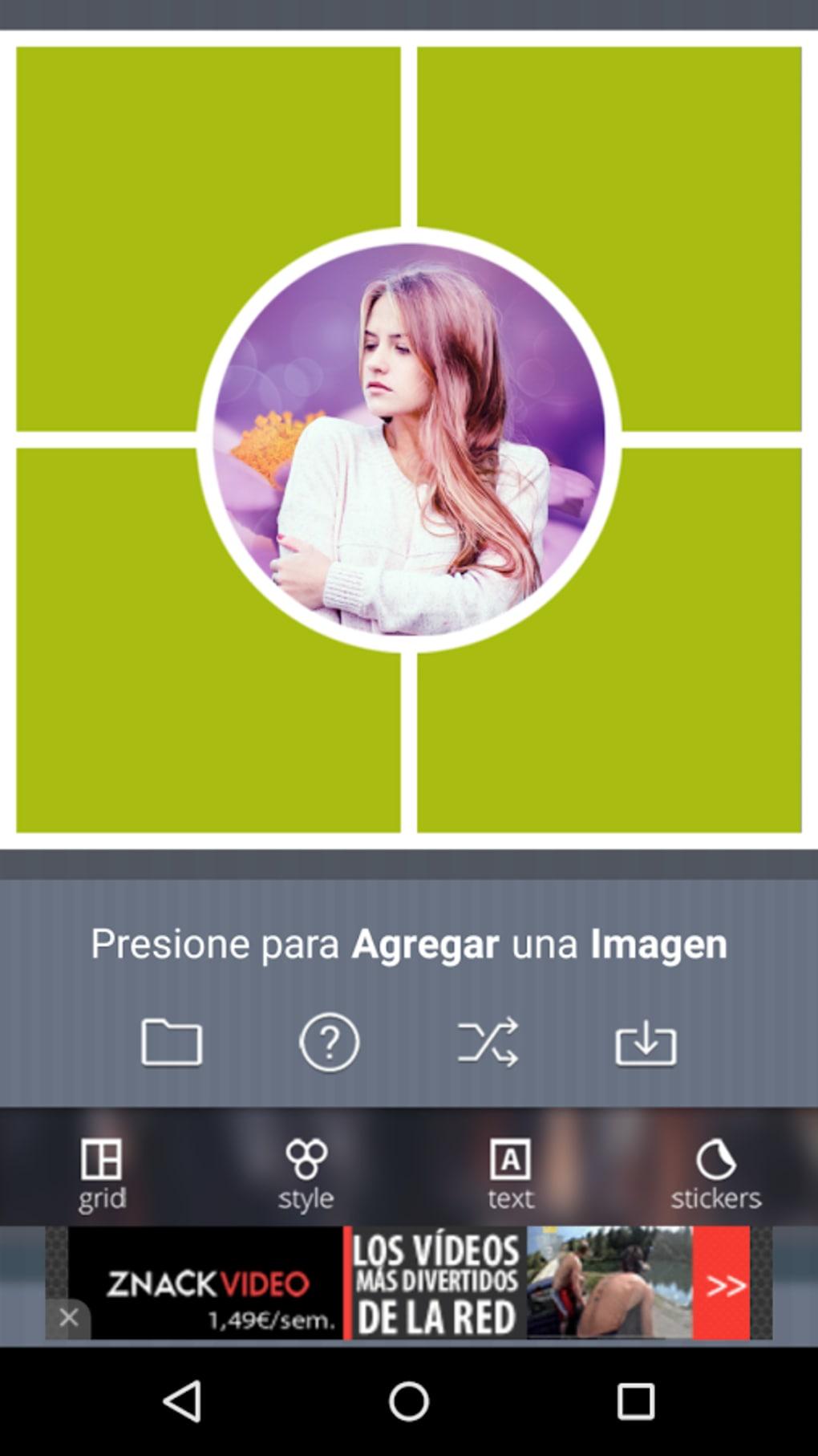 Editor Foto Collage para Android - Descargar