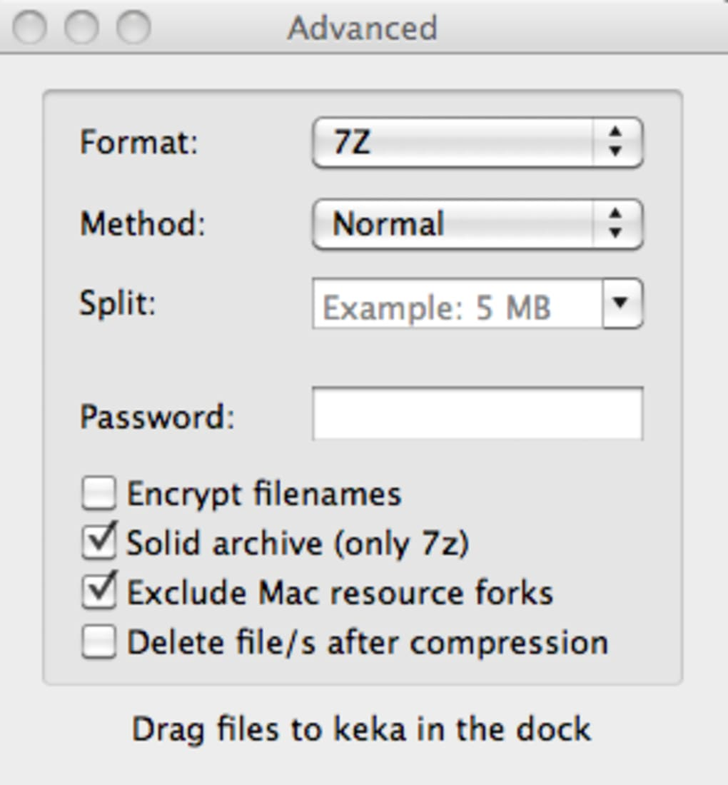 Keka for Mac - Download