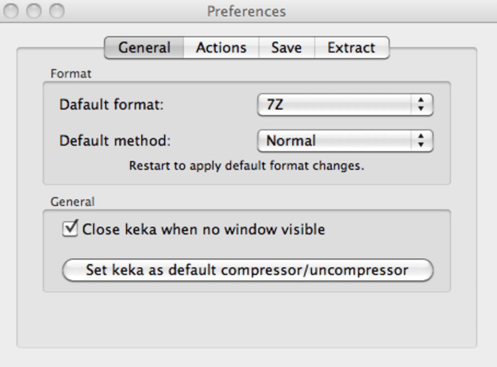 Keka for Mac - Download