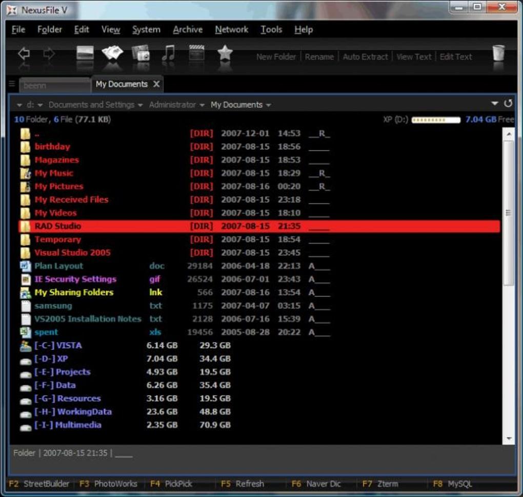NexusFile - Download