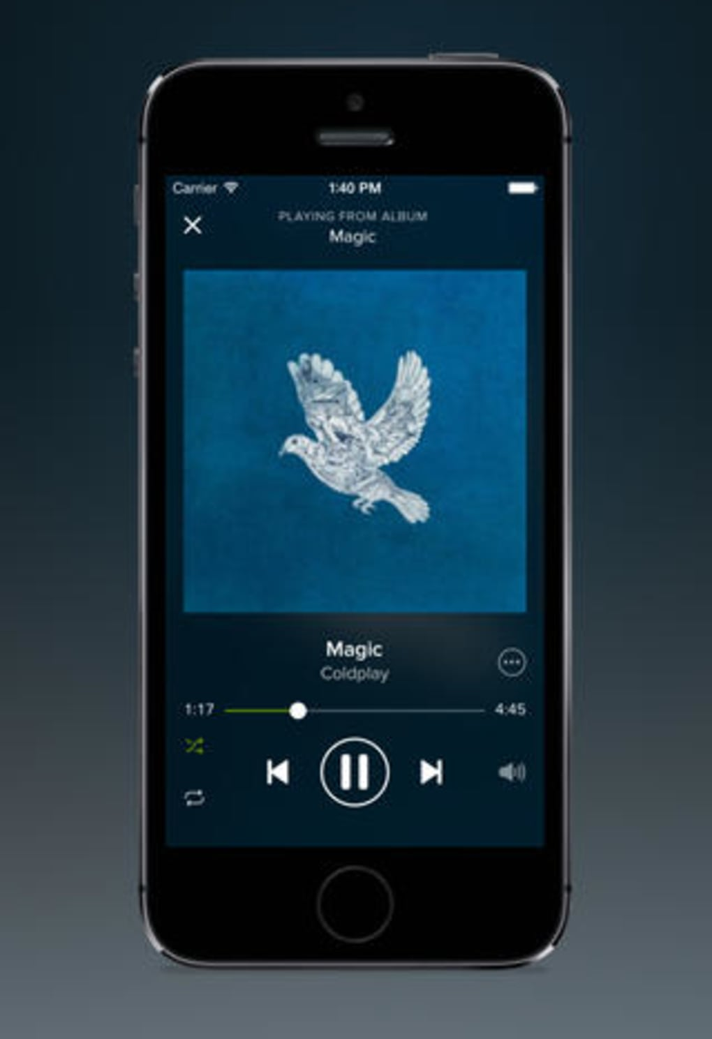 canzoni spotify iphone