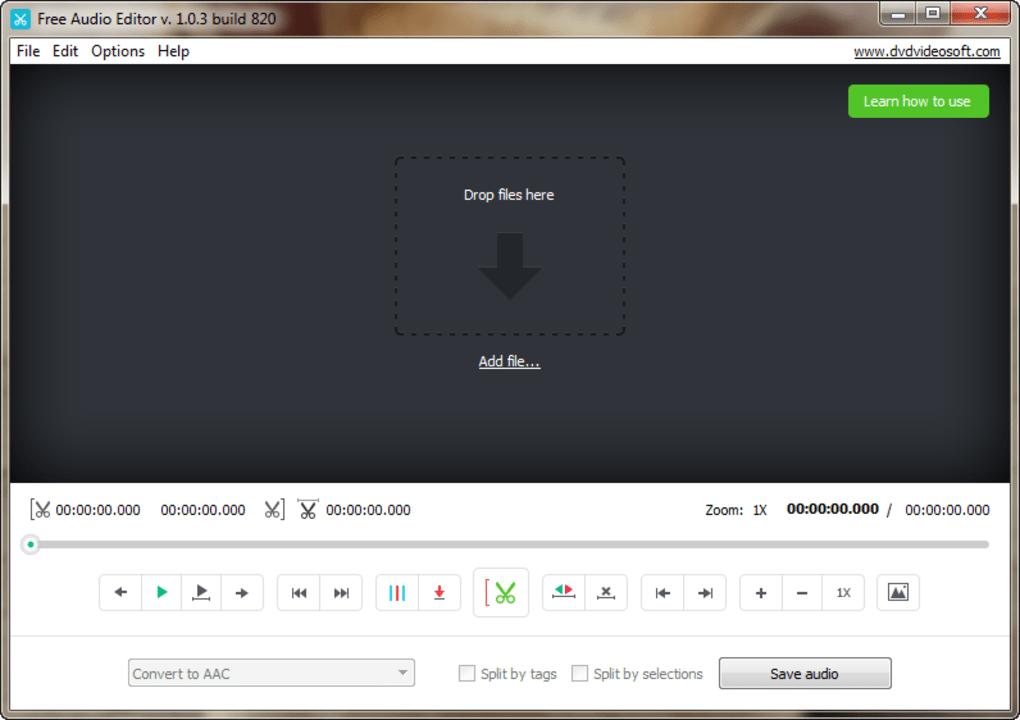 audio schnittprogramm free