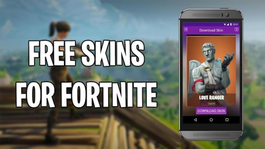 Free skins for Fortnite for Android - Download