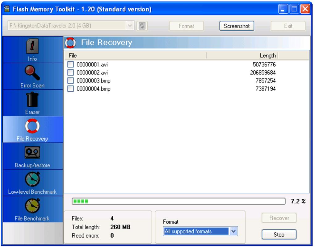 Flash Memory Toolkit - Download